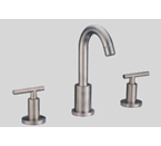 Dawn AB16 1513 3-Hold Widespread Lavatory Faucet with Lever Handles Brushed Nickel