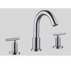 Dawn AB16 1513 3-Hole Widespread Lavatory Faucet with Lever Handles Chrome