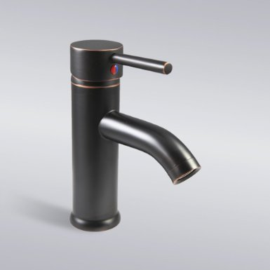 Decor Star Bathroom Vanity Sink Lavatory Faucet BRG01-SO Oil Rubbed Bronze