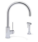 Blanco 440607 Purus II Chrome Faucet W/ Side Spray