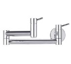 Blanco 441194 Cantata Wall Mounted Chrome Pot Filler