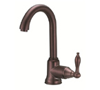 Danze D151540RB Fairmont Single Handle Oil Rubbed Bronze Bar Faucet