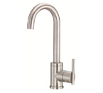 Danze D151558SS Parma Single Handle Stainless Steel Bar Faucet