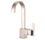 Danze D151644SS Sirius Single Handle Stainless Steel Bar Faucet