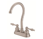Danze D153555SS Sheridan Two Handle Stainless Steel Bar Faucet