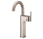 Danze D201542BN Como Single Handle Vessel Filler Brushed Nickel Faucet