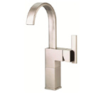 Danze D201544BN Sirius Single Handle Vessel Filler Brushed Nickel Faucet
