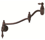 Danze D205040RB Fairmont Single Handle Oil Rubbed Bronze Wall Mount Pot Filler