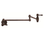 Danze D205057RB Opulence Single Handle Oil Rubbed Bronze Wall Mount Pot Filler