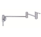 Danze D205058 Parma Single Handle Chrome Wall Mount Pot Filler