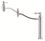 Danze D206540 Fairmont Single Handle Deck Mount Chrome Pot Filler