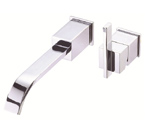 Danze D216044 Sirius Single handle Wall Mount Chrome Lavatory Faucet