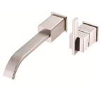 Danze D216044BNT Sirius Single Handle Wall Mount Brushed Nickel Lavatory Faucet Trim Kit