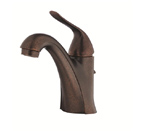 Danze D225521BR Antioch Single Handle Tumbled Bronze Lavatory Faucet