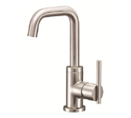 Danze D231558BN Parma Single Handle Trim Line Brushed Nickel Lavatory Faucet