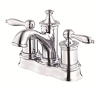 Danze D301010 Prince Two Handle Centerset Chrome Lavatory Faucet