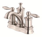 Danze D301010BN Prince Two Handle Centerset Brushed Nickel Lavatory Faucet