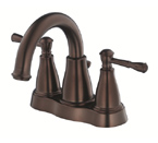 Danze D301015BR Eastham Two Handle Centerset Tumbled Bronze Lavatory Faucet