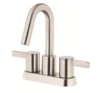 Danze D301030BN Amalfi Two Handle Centerset Brushed Nickel Lavatory Faucet