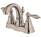 Danze D301040BN Fairmont Two Handle Centerset Brushed Nickel Lavatory Faucet