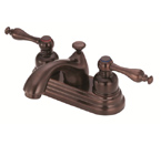 Danze D301055RB Sheridan Two Handle Centerset Oil Rubbed Bronze Lavatory Faucet