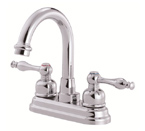 Danze D301255 Sheridan Two Handle Centerset Chrome Lavatory Faucet