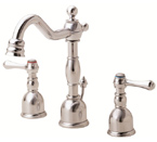 Danze D303057PNV Opulence Mini-Widespread Polished Nickel Lavatory Faucet