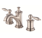 Danze D304010BN Prince Two Handle Widespread Brushed Nickel Lavatory Faucet
