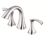 Danze D304022 Antioch Two Handle Widespread Chrome Lavatory Faucet
