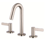 Danze D304030BN Amalfi Two Handle Mini-Widespread Brushed Nickel Lavatory Faucet