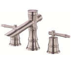 Danze D304045BN South Sea Widespread Brushed Nickel Lavatory Faucet
