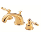 Danze D304055PBV Sheridan Widespread Polished Brass Lavatory Faucet
