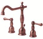 Danze D304057AC Opulence Widespread Antique Copper Lavatory Faucet
