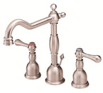 Danze D304057BN Opulence Widespread Brushed Nickel Lavatory Faucet