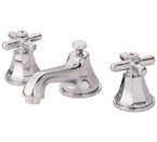 Danze D304066 Brandywood Widespread Cross Handle Chrome Lavatory Faucet