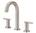 Danze D304558BN Parma Trim Line Widespread Brushed Nickel Lavatory Faucet