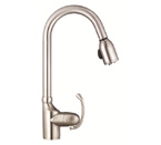 Danze D454520SS Anu Single Handle Stainless Steel Pulldown Faucet