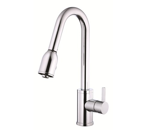 Danze D454530 Amalfi Single Handle Chrome Pulldown Faucet