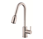 Danze D454530SS Amalfi Single Handle Stainless Steel Pulldown Faucet