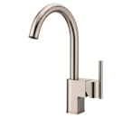 Danze D457144SS Como Single Handle Stainless Steel Pull-Down Faucet