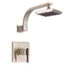 Danze D500544BNT Sirius Complete Faucet Single Handle Pressure Balance Brushed Nickel Shower