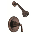 Danze D500556RB Bannockburn Complete Faucet Single Handle Pressure Balance Oil Rubbed Bronze Shower