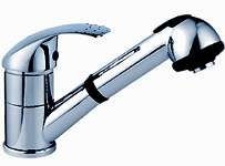 Alfa Chrome Kitchen Faucet FA00437