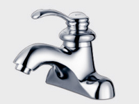 Alfa Brushed Bathroom Faucet FA08105