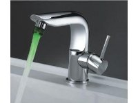 Alfa Brushed LED Bathroom Faucet FLED00061