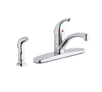 Elkay Everyday LK1001CR Chrome Side Spray Kitchen Faucet