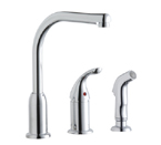Elkay Everyday LK3001CR Chrome Side Spray Kitchen Faucet
