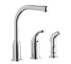 Elkay Everyday LK3001CR Chrome Side Spray Kitchen Faucet