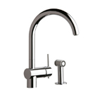 Elkay Allure LK6176NK Brushed Nickel Kitchen Faucet
