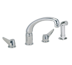 Elkay LKD231 Chrome Side Spray Kitchen Faucet